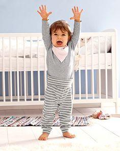 Detské oblečenie a nápady do detskej izby – iba online v Tchibo 2nd Baby, Boy Fashion, Toddler Bed, Kids Rugs, Sport, Decor, Fall 2016, Cotton, Trousers