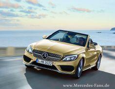 Mercedes Fans - Artikel - Mercedes C-Klasse Cabrio und GLK Coupé kommen!