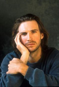 Ralph Fiennes as a young man