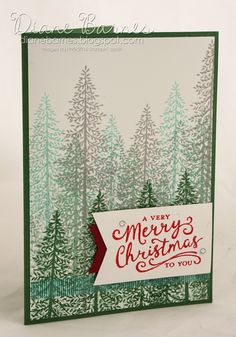 Christmas card using Stampin Up Thoughtful Branches bundle & Reason for the Season stamp set. Case of card by Cindy Schuster. This card by Di Barnes 2016 annual catalogue New Year's Crafts, Paper Crafts, Creative Class, Card Tricks, Stamping Up Cards, Christmas Cards, Christmas Ideas, Greeting Cards Handmade, Handmade Christmas