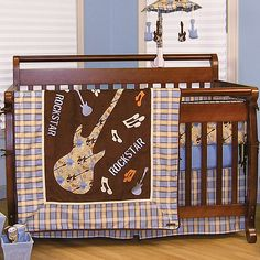 Can't decided if we wanna military nursery or Guitar one.. For the future boy! I want him to be just like his daddy ;) with the exception of him being in the military when he gets older LOL