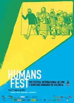 Comunicación del Festival Internacional de Cine y Derechos Humanos de Valencia #HumansFest