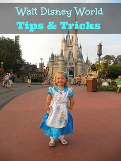 Planning a Disney Vacation These are The Best Disney World Tips and Tricks to help you save money and time on your next Disney World Vacation.