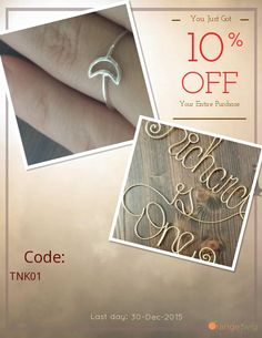 Get 10% OFF our Entire Store now! Enter Coupon Code: TNK01 Restrictions: Min purchase: USD 18.00, Expiry: 30-Dec-2015. Click here to avail coupon: https://orangetwig.com/shops/AAAsU8u/campaigns/AAA6RBn?cb=2015006