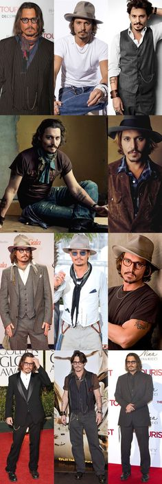 Johnny Depp And to this I went to school with him...