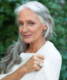 """""""I do not accept my age — I celebrate it! I wear my wrinkles, silver hair, and age spots as medals of honor. Life and beauty is all what you make it. That is what attractiveness and aging gracefully is all about. Enjoy it!"""" ~Cindy Joseph"""