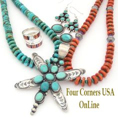 Carico Lake Turquoise Four Corners USA OnLine Native American Jewelry http://stores.fourcornersusaonline.com/carico-lake-turquoise-jewelry/