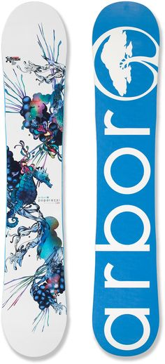 Love the colorful top on this. Arbor Poparazzi Snowboard - Women's - 2012/2013 at REI.com