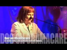 Doc on Obamacare : Dr Barbara Bellar sums up Obamacare in one sentence.  MUST WATCH!! NAILS IT!
