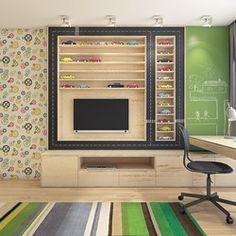 Dom pod Krakowem - przestrzeń zupełna, Projekt wnętrza mieszkalnego WERDHOME - homebook Own Home, Kids Bedroom, Kitchen Appliances, Dom, Child's Room, Children, Image, Bedroom, Ideas