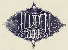 #typography I like the old feel and the type is beautiful.