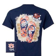 Auburn Tigers Flip Flop T-Shirt