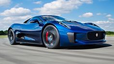 Top Gear drives the Jaguar C-X75 - BBC Top Gear