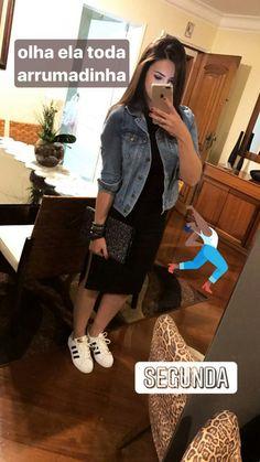 Wishlist: jaqueta jeans + Adidas superstar + vestido preto