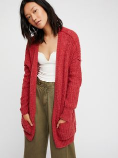 Weekend Getaway Cardi from Free People! SIZE SM