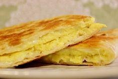 Breakfast egg tortilla
