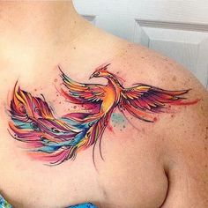 Symbolic Meanings Of Phoenix Tattoos for Men 60 Incredible Phoenix Tattoo Design. - Symbolic Meanings Of Phoenix Tattoos for Men 60 Incredible Phoenix Tattoo Designs You Need to See - Tattoo Platzierung, Tattoo Motive, New Tattoos, Body Art Tattoos, Tattoos For Guys, Cool Tattoos, Tatoos, Tattoo Bird, Awesome Tattoos