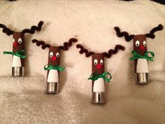 Reindeer shotgun shell ornaments                                                                                                                                                                                 More