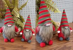 Moose-R-Us.Com Scandinavian Gnome Tomte Felt Shelf Sitter