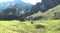 http://reisen-agentur.de/ Breitenbergbahn Bergstation (1677 m) Ostlerhütte (1838 m) - Leichte, lohnende Bergwanderung von der Bergstation der neuen Vierer-Se...