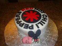Red hot chili peppers cake