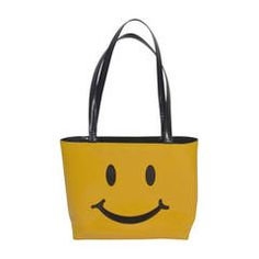 1990s MOSCHINO Iconic Smiley Face Totebag