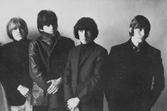 Brian Jones, Keith Richards, Bill Wyman, and Charlie Watts