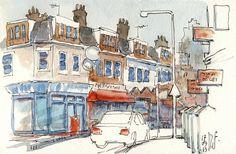 Albion Road, Stoke Newington (London) by renefijten.