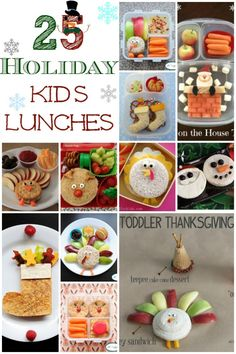 25 Holiday Kids Lunches