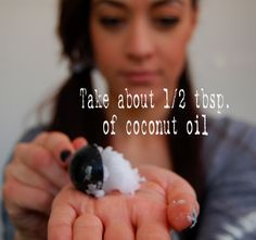 Coconut oil hair mask, I did this & it worked wonders on my bleached hair!!