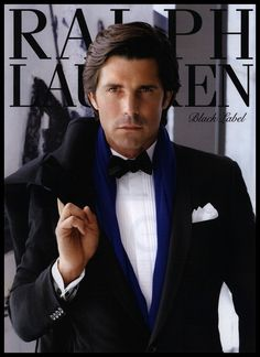 Oh my, Nacho Figueras. the face of Ralph Lauren and top ranked Argentinian polo player.