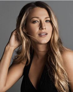 "Blake Lively. ""Fairytales do come true, when you strive with passion to make them happen. As Serena van der Woodsen said it aptly: We make our own Fairytales."" - Deodatta V. Shenai-Khatkhate #WomenHairColorBlakeLively"