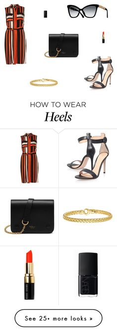 """Untitled #6769"" by mie-miemie on Polyvore featuring Dorothy Perkins, Gianvito Rossi, Mulberry, Bobbi Brown Cosmetics and NARS Cosmetics"