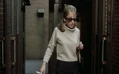 Top 7 outfits in Breakfast at Tiffany's. Links to the clothes, the designers and modern alternatives! Audrey Hepburn's clothing in Breakfast at Tiffany's. Breakfast At Tiffany's Movie, Audrey Hepburn Breakfast At Tiffanys, Jessica Day, Holly Golightly, Beige Outfit, Beige Sweater, Costumes For Women, Female Costumes, My Wardrobe