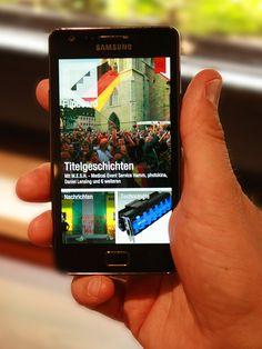 Die Flipboard-App ist die Zeitung der Zukunft.