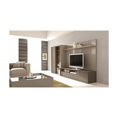 J&M Furniture 221 Wall TV Unit