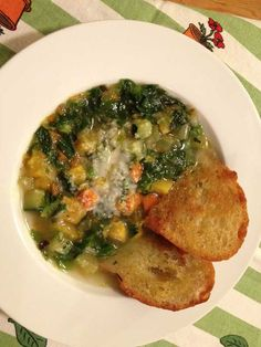 Spring Vegetable Soup by Chef Pia Vallone | The Artful Gourmet