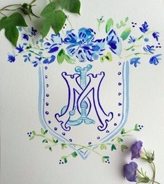Custom monograms & heraldry – Gina Langford