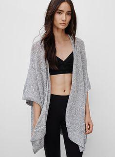 COMMUNITY CAPE IONIC - <p>Un chandail de style cape parfaitement décontracté et fait en doux mélange de coton</p>