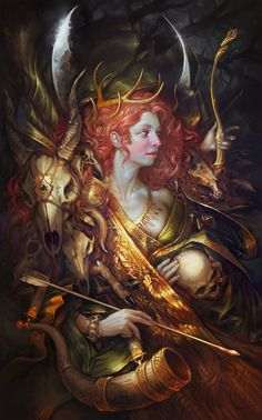 ArtStation - Diana, Sabbas Apterus
