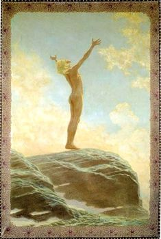 "Lichtgebet:- ""Light Prayer"", 1894: Fidus (born Hugo Reinhold Karl Johann Höppener)"