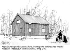 rintamamiestalo Sweet Home, Cabin, Traditional, Country, House Styles, Image, Home Decor, Art, Finland