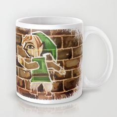 LOZ - A Link Between Worlds  Mug by SweetOwls - $15.00