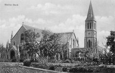 Mooltan Church (Multan). British India (Now Pakistan)