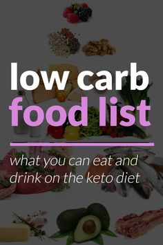 Having a low carb food list is vital when starting out on a low carb diet. We've included everything you need to know to eat well and be healthy!