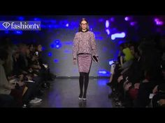 "DKNY Fall/Winter 2013-14 | New York Fashion Week NYFW | FashionTV ✮✮""Feel free to share on Pinterest"" ♥ღ www.fashionupdates.net"