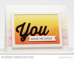 Sketchy Flowers Card Kit - Jody Morrow #mftstamps