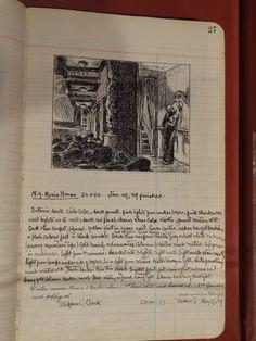 Edward Hopper notebook, New York Movie, Jan. 29 1939 finished