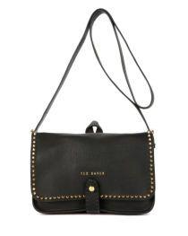 Studded cross body bag - Black | Bags | Ted Baker