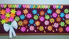 """Tüm sınıflara yönelik, birbirinden güzel """"Öğretmenler Günü"""" panoları File Decoration Ideas, School Board Decoration, Origami, Activities, Projects, Mantle, School Decorations, Chalkboards, Log Projects"""